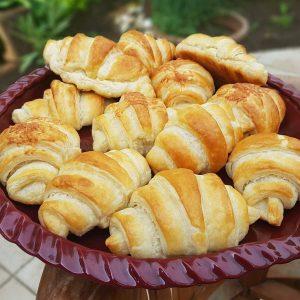 Croissant recept - Grill-Ázs Cake House - Farkasinszki Ildikó