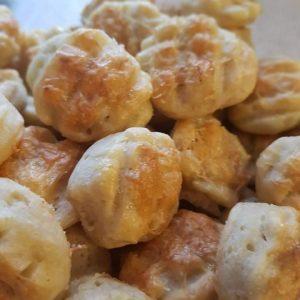 Kovászos sajtos pogácsa - Grill-Ázs