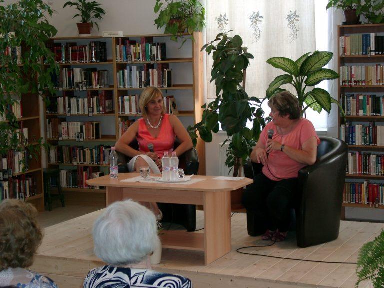 Közönségtalálkozó – dr. Farkasinszki Ildikó volt a vendégünk
