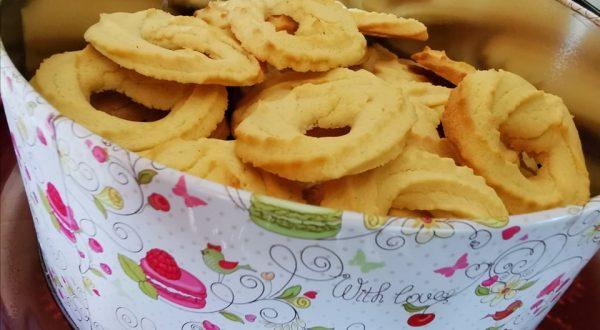 Dán vajas keksz (vaniljekranse) - Grill-Ázs