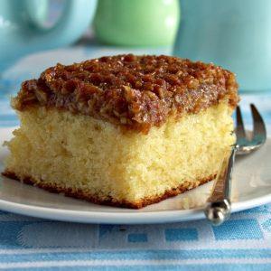 Dán kókuszos sütemény (Drommekage) - Grill-Ázs